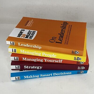 HBR Harvard Business Review Book Collection -Used