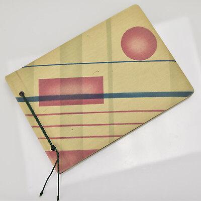 Rare Unused Art Deco Bauhaus Photo Album Suprematism Modernist Geometric (Bauhaus Art Deco)