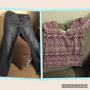 American Eagle and Roots clothes for medium/ size 8-10 Ladies