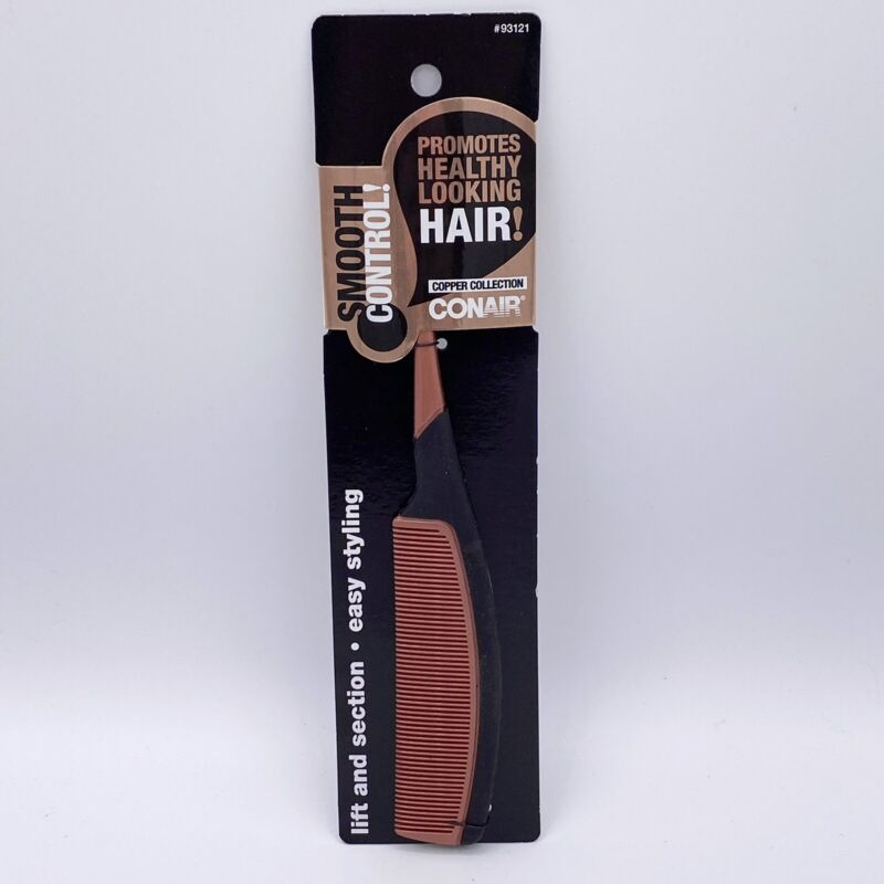 Conair Copper Collection Smooth Control Hair Tail Comb #93121