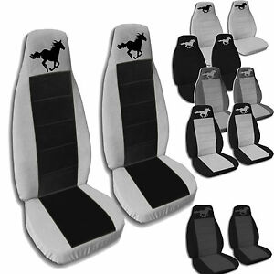 2013 to 2015 ford mustang seat covers fits a coupe or convertible and any gt. Black Bedroom Furniture Sets. Home Design Ideas