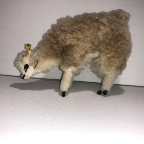 Handmade Alpaca Figurine Real Wool