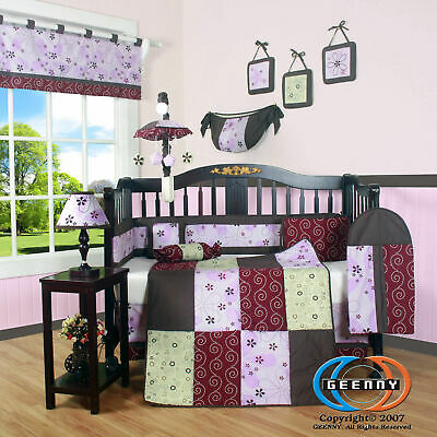 13PCS  Love Circle Baby Nursery Crib Bedding Sets - Holiday Special