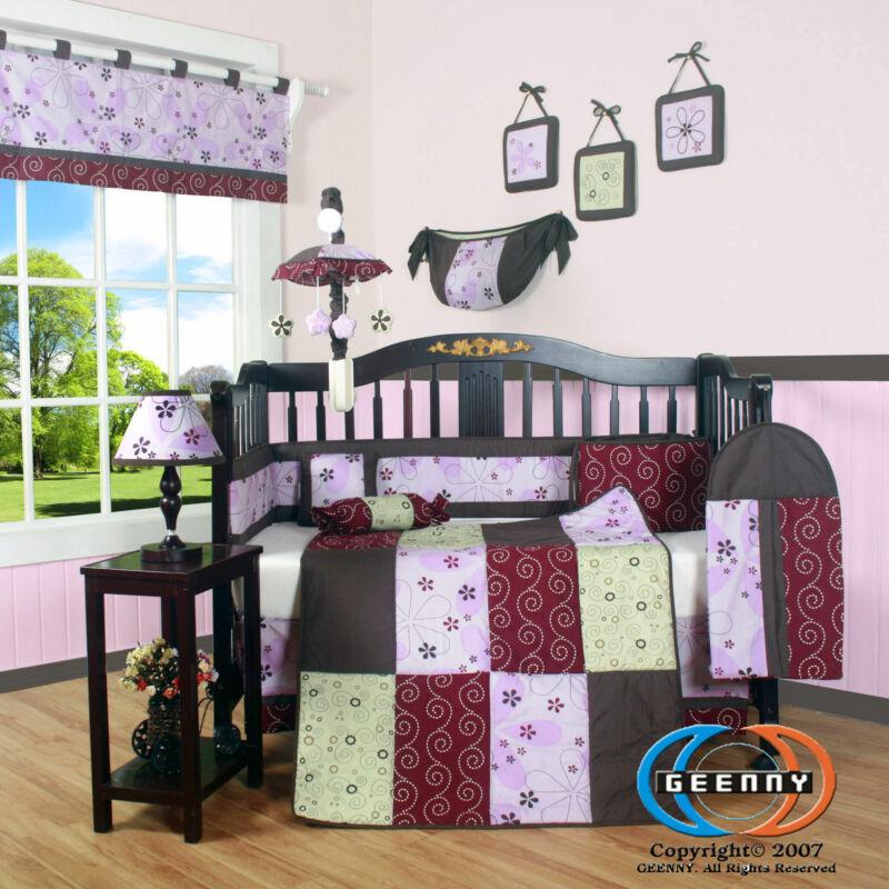 13PCS  Love Circle Baby Nursery Crib Bedding Sets - Holiday Special