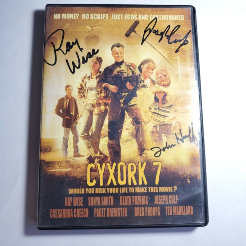 CYXORK 7 DVD Signed By Ray Wise