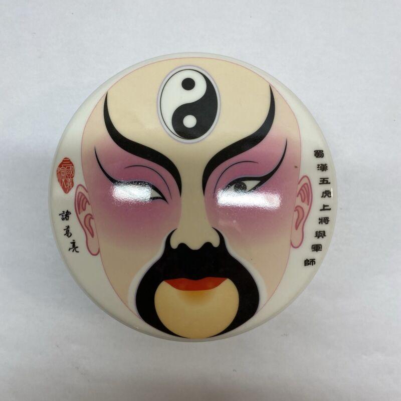 Chinese Kabuki Opera Masks Set of Six Coasters
