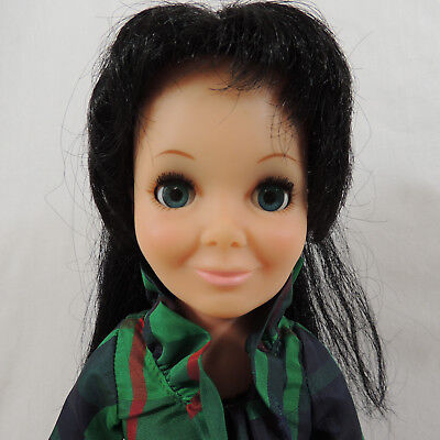 Ideal Toy TRESSY Doll Grow Hair Christmas Tafetta Dress Panties Shoes