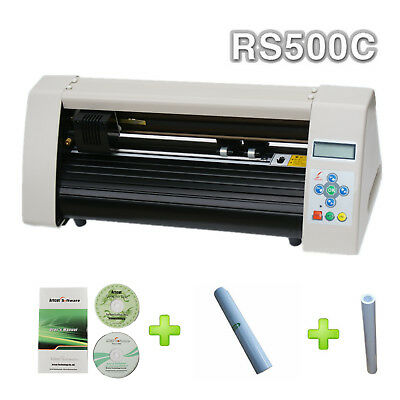 Rs500c Mini 15 Desktop Cutting Plotter Artcut Software Vinyl Sticker Tape