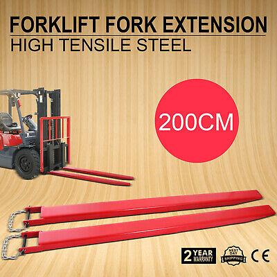 84x4 Forklift Pallet Fork Extensions Pair Lift Truck