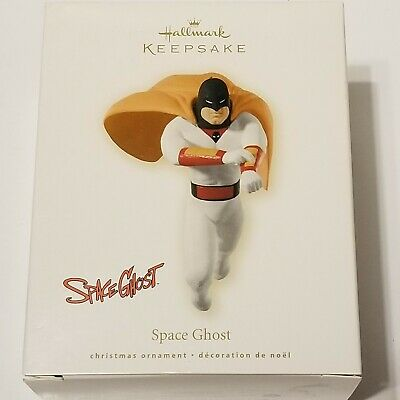2008 HALLMARK Keepsake Ornament SPACE GHOST Cartoon Superhero DC Comics -