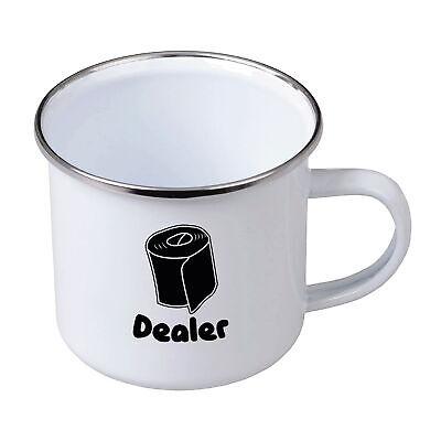 Fun Emaille Tasse Becher Klopapier Dealer Toiletten Papier Büro