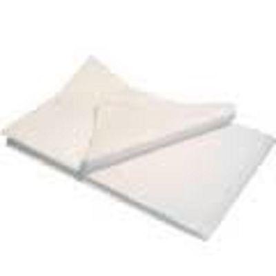 10 feuilles de soie papier mousseline 55 x 72 blanche NEUF