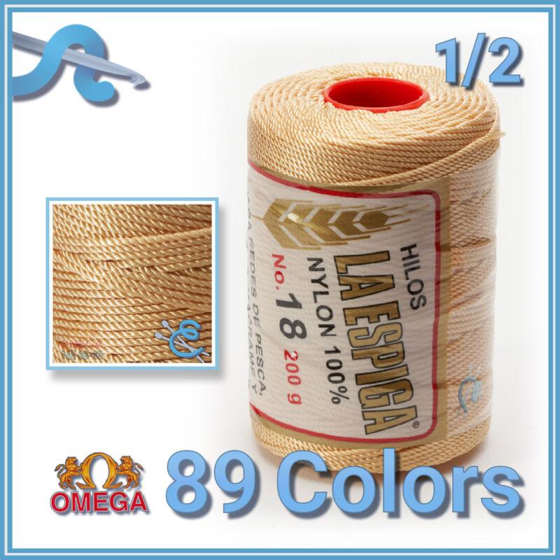 Espiga No.18 - 100% Nylon Omega String Cord for Knitting and Crochet   Strong Me