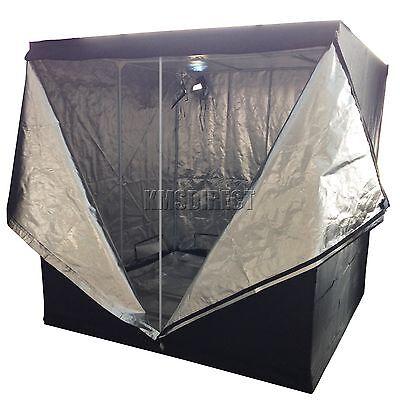 Hydroponics Grow Tent Bud Dark Room Box Reflective Mylar Silver 2m X 2m X 2m New
