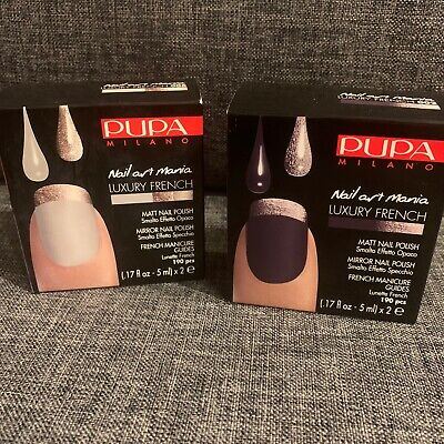 Used, Smalto Pupa Milano Nail Art Mania Luxury French for sale  Shipping to Nigeria
