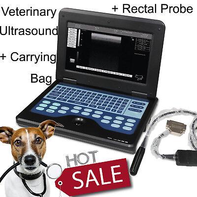 Veterinary Ultrasound B-ultrasound Diagnostic System Laptop 7.5mhz Rectal Probe