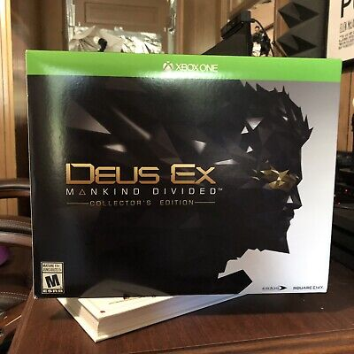 One Collector - Deus Ex Mankind Divided Xbox One [ Collector's Edition ] Brand New
