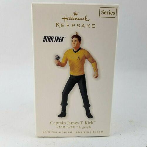 Star Trek Legends CAPTAIN JAMES T KIRK 2010 Hallmark Keepsake Ornament New