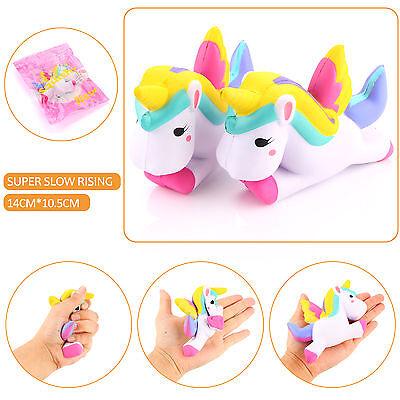 12CM Unicorn Squishy Fun Slow Rising Cartoon Doll Toy Squeeze Relieve AnxietGift