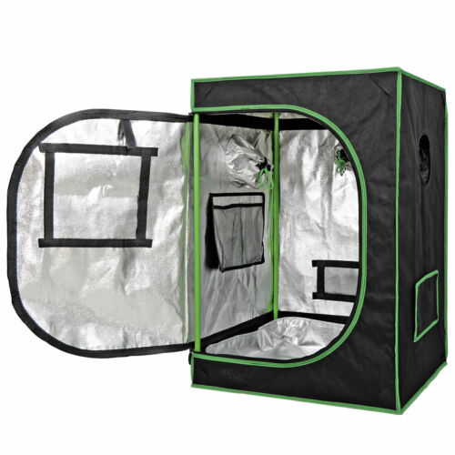 Grow Tent Box Seed Room with Window Indoor Watching Plants Growing