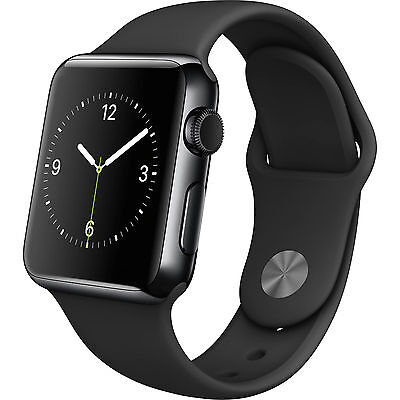 Apple WATCH SPORT 42mm Space Gray Aluminum Case with silicone Band