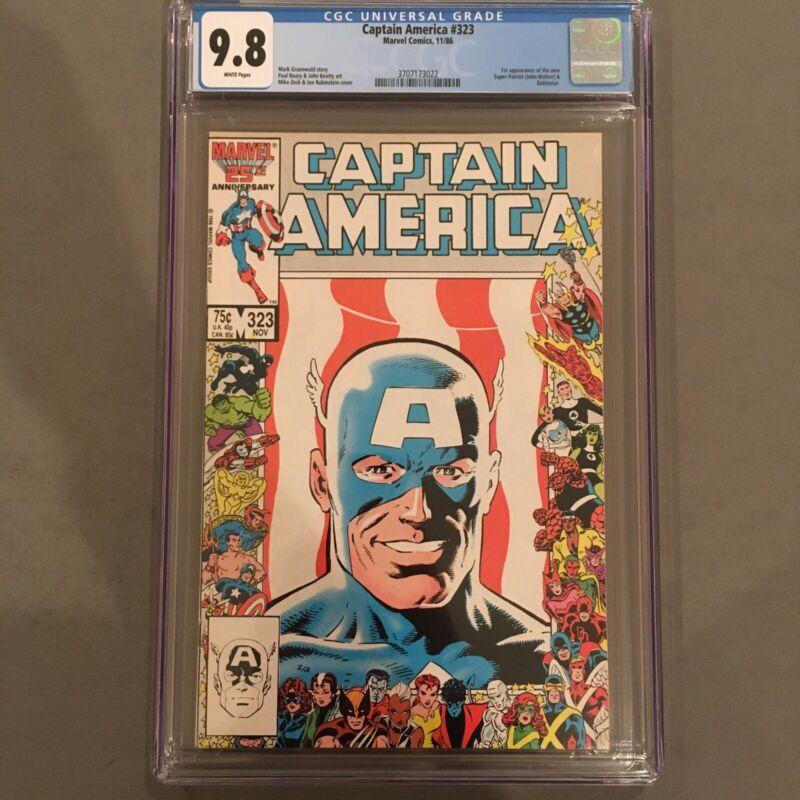 Captain America #323 CGC 9.8 1st Super-patriot John Walker