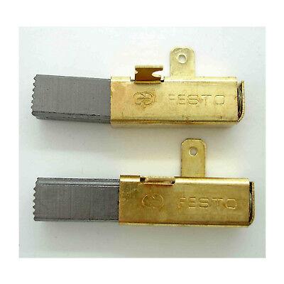 Carbon brushes for Festool TS55 491704 TS75 SAW 492014 Festool Kapex 120KS 12EB for sale  Shipping to Canada