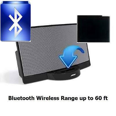 Black Bluetooth Music Receiver Adapter for Bose SoundDock Speaker  (Tested)