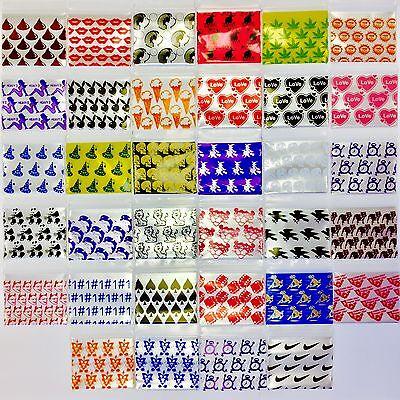 3mil 15125 100 25 Designs Mixed Baggies Mini Ziplock Design Bags 1.5 X 1.25