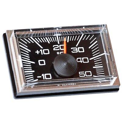 Historischer RICHTER Auto Reliefskala Thermometer Kompass aus 1978 HR Art 7460