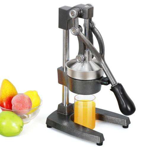 Manual Juice Press Commercial Citrus Press Fruit Manual Squeezer Orange Lemon Home & Garden