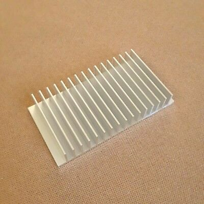 3 Inch Heat Sink Aluminum 3 X 4.85 X 0.8 Inches. Low Thermal Resistance.