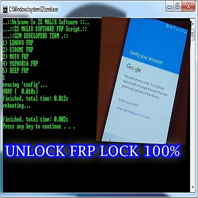 Instant Remote Google Account Removal Reset Frp For  All Android Model