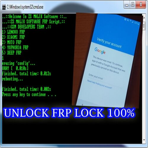 FAST Remote Google Account Removal/Reset FRP For  ALL ANDROID MODEL