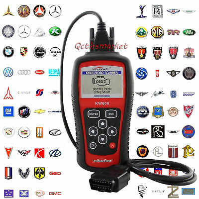 MaxiScan MS509 KW808 OBD2 OBDII EOBD Scanner Car Code Reader Tester Diagnostic for sale  Shipping to Canada