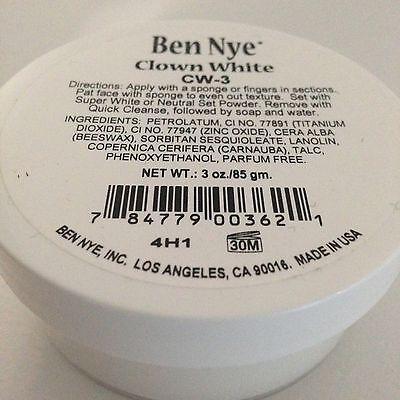 Ben Nye Clown White 3 oz Jar