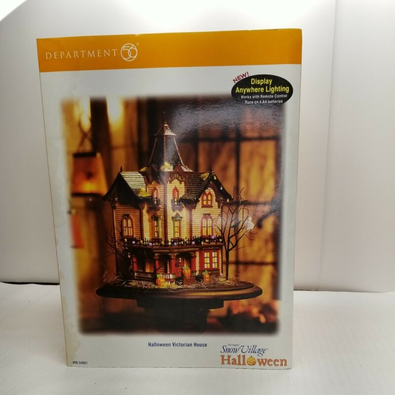 DEPT 56 HALLOWEEN VICTORIAN HOUSE 54601 - No battery pack.