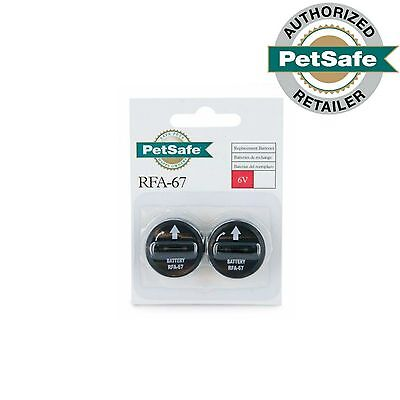 PetSafe RFA-67D-11 Batteries 6 Volt Package of 2 Batteries