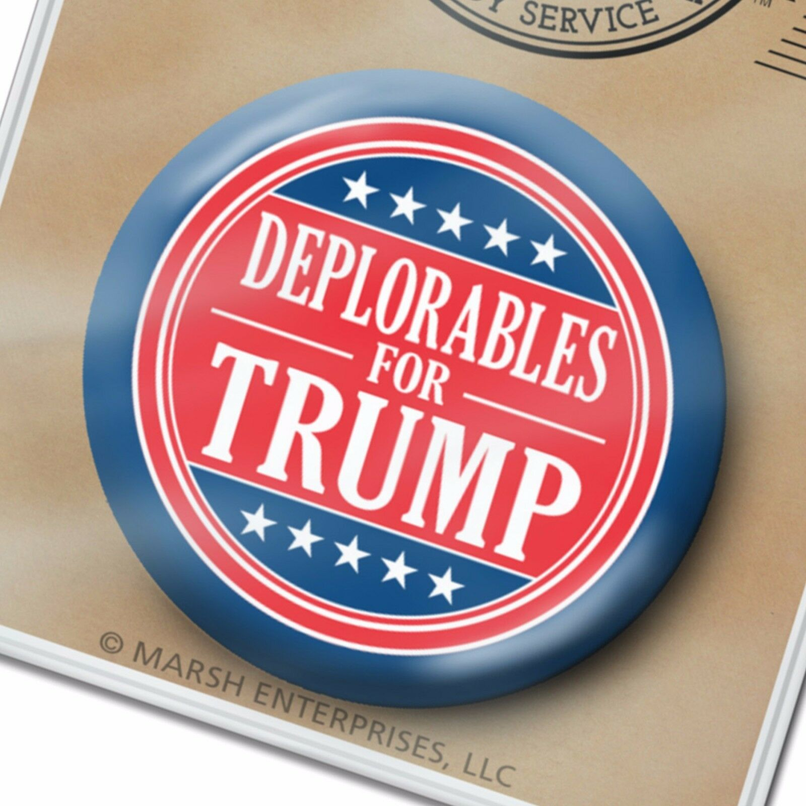 Deplorables for Donald Trump Button - Mike Pence 2.25