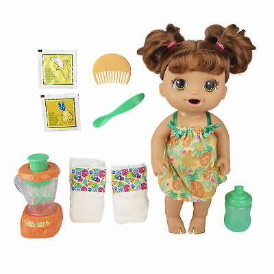 Baby Alive Magical Mixer Baby Doll Tropical Treat,Blender,Eats,3 Years+