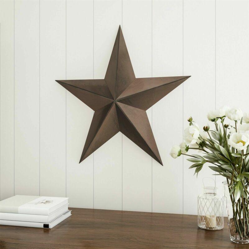24 Inch Metal Tin Barn Star Indoor 2 Feet Rustic Americana Hanging