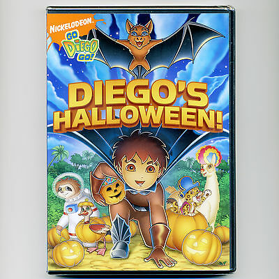 Diego's Halloween, new DVD Nick Jr. PBS episodes, kids, bat, crocodile, manatee