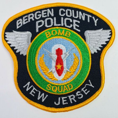 Bergen County Police Bomb Squad New Jersey NJ Patch (A9)