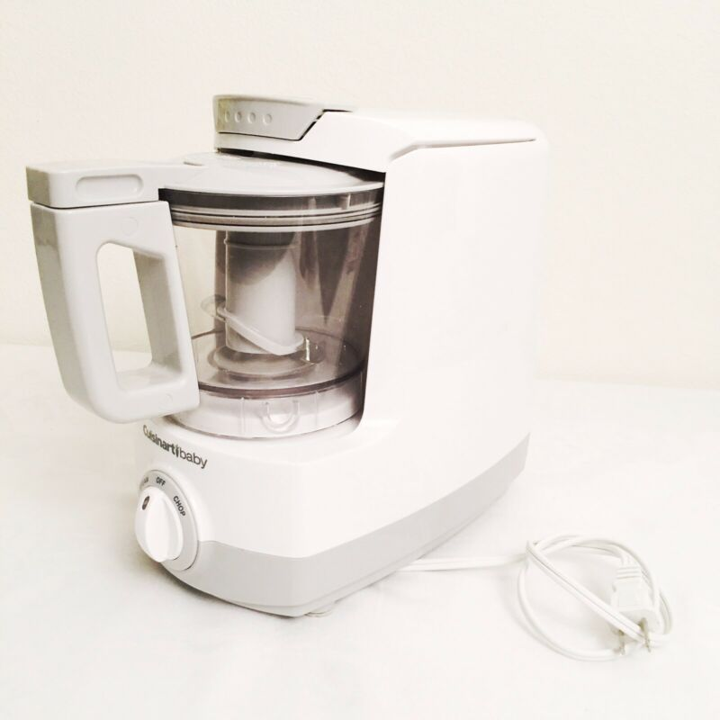 Cuisinart Baby Food Maker and Bottle Warmer BFM-1000 White Great Condition!