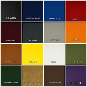 Marine Vinyl Boat Pontoon Waverunner JetSki Upholstery  in 17 COLORS (per yard)
