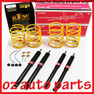 HOLDEN-GEMINI-TD-WAGON-77-79-30MM-LOWERED-KYB-SHOCKS-KING-SPRINGS-KIT