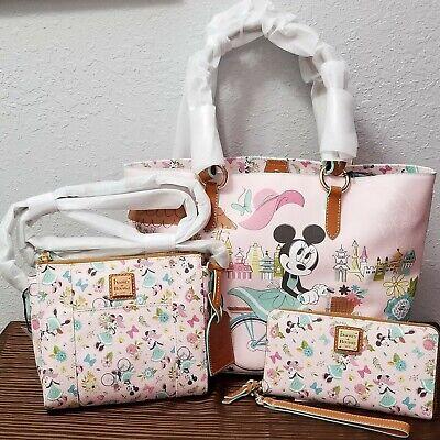*Actual Bags* Dooney & Bourke Bag Set 2020 Epcot Flower & Garden Disney Parks