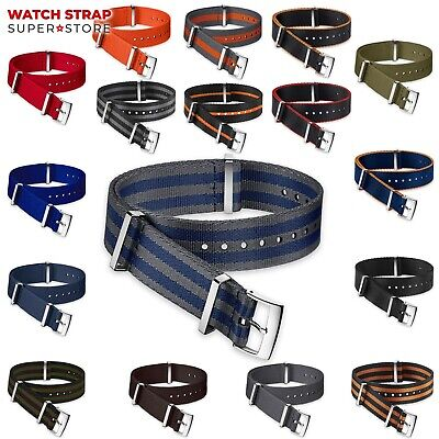 NATO Watch Strap Band DIVERS G10 Military NYLON Fabric Army Men's Buckle Clasp