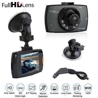 "2.7"" 1080P Car DVR Dash Cam Vehicle Video Recorder Camera G-Sensor Night Vision"