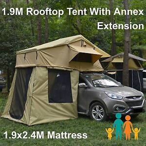 New Arrival 280g ripstop roof top tent 1.9x2.4M Annex PVC floor Riverwood Canterbury Area Preview